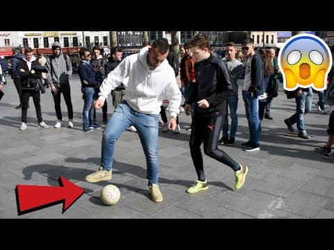 I NUTMEGGED EVERYONE IN LONDON FOR 1 DAY! (CRAZY  FOOTBALL REACTIONS)
