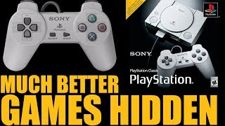 The PlayStation Classic Has 36 AMAZING (UNUSABLE) Games Hidden Inside...