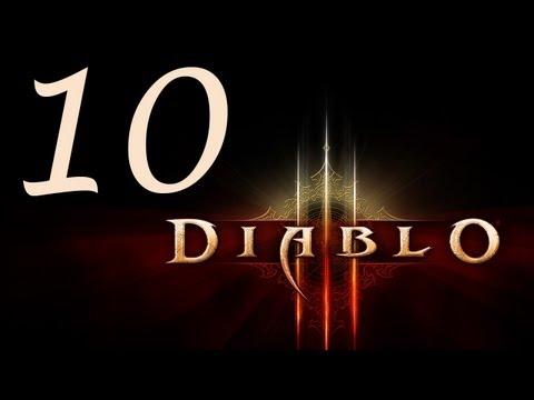 Diablo 3 Walkthrough - part 10 Full game 1080p Max settings Story Walkthrough D3 D III