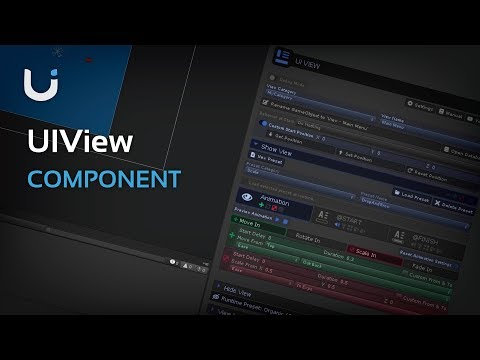 UIView – DoozyUI – Complete UI Management System for Unity