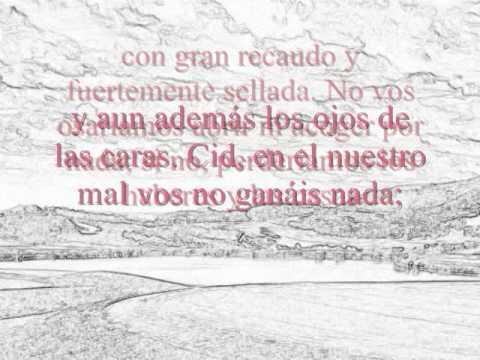 Cantar de Mío Cid - Primer Cantar (Anónimo)