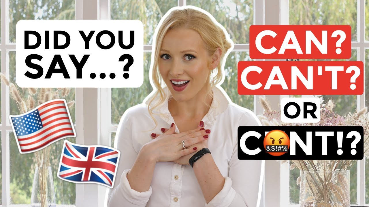 The MOST Confusing English Mistake - Did you say CAN, CAN'T or ????