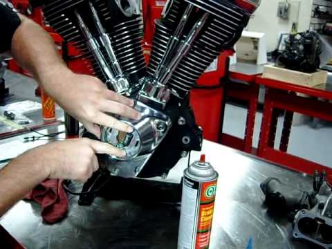 Part 10 How to Install the Ignition Rotor Cam Sensor Plate on Harley