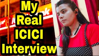 Interview of #ICICI BANK for Probationary officer   #Bank PO INTERVIEW