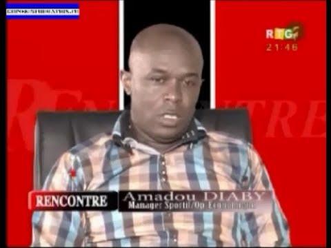 Emission Rencontre, Invité Amadou Diaby, Directeur général d'Africa Foot Agency