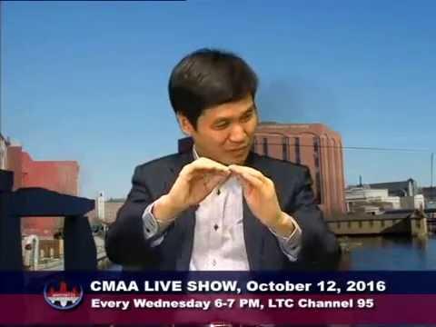 Dr  Reth Soeng at CMAA TV Show 10 12 16