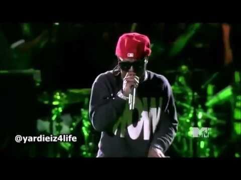 Lil Wayne MTV Live  Drop the World & A Milli