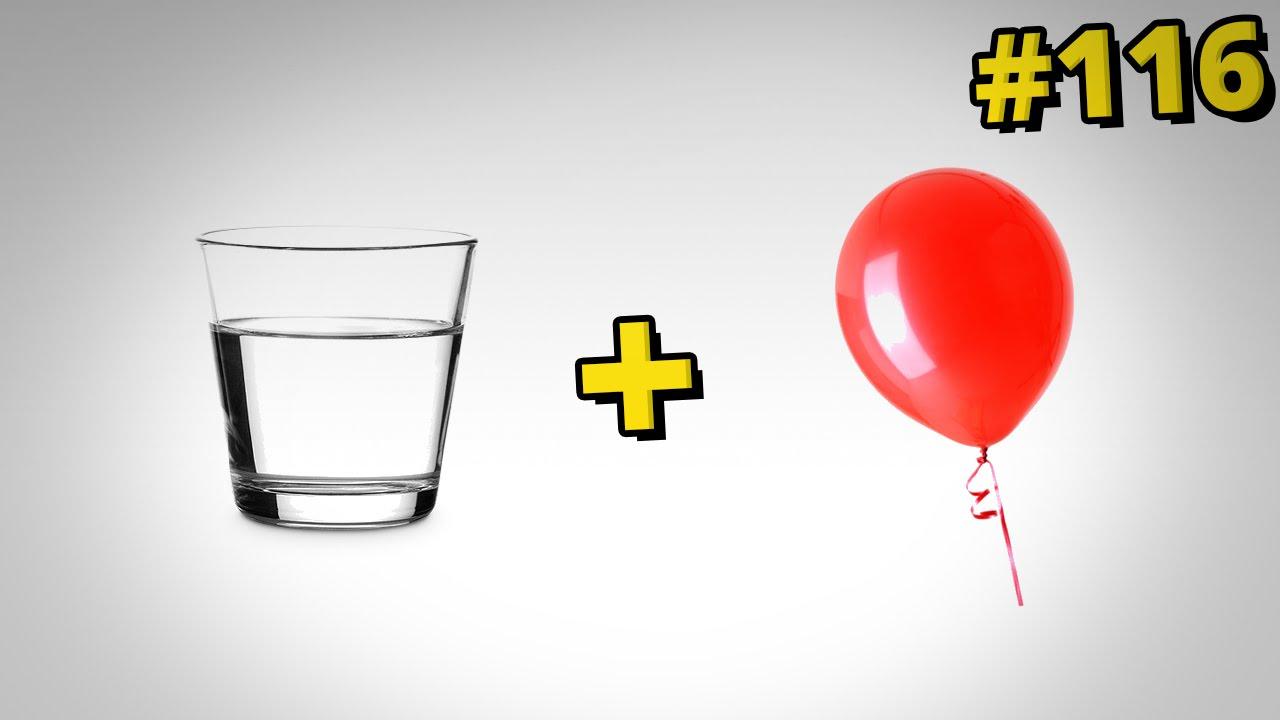 Jak ulepszyć szklanki - pomysł z balonem