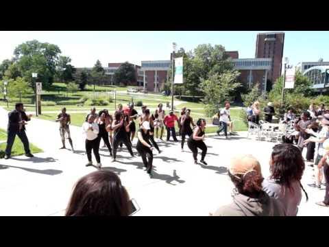 """Miriam Makeba: Mama Africa the Musical"" flash mob fun"
