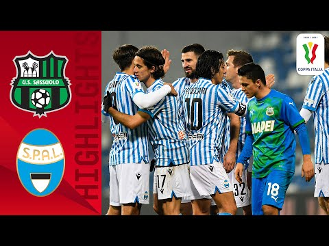 Sassuolo Spal Goals And Highlights