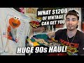 WHAT $1200 WORTH OF VINTAGE CLOTHING LOOKS LIKE! HUGE 90s HAUL