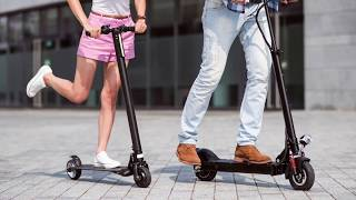 Electroscooter Test 2017