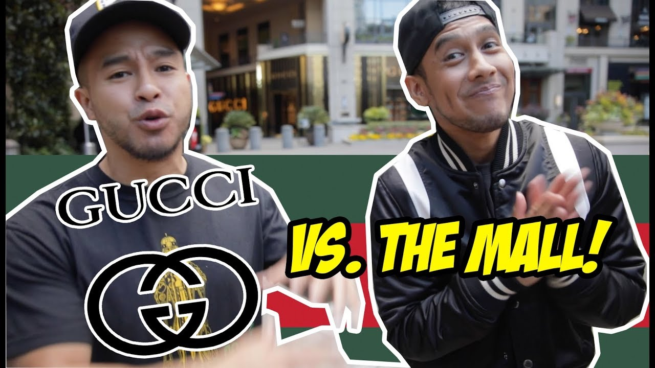 $5,000 GUCCI OUTFIT VS  $50 MALL OUTFIT! WHICH ONE IS WORTH IT?