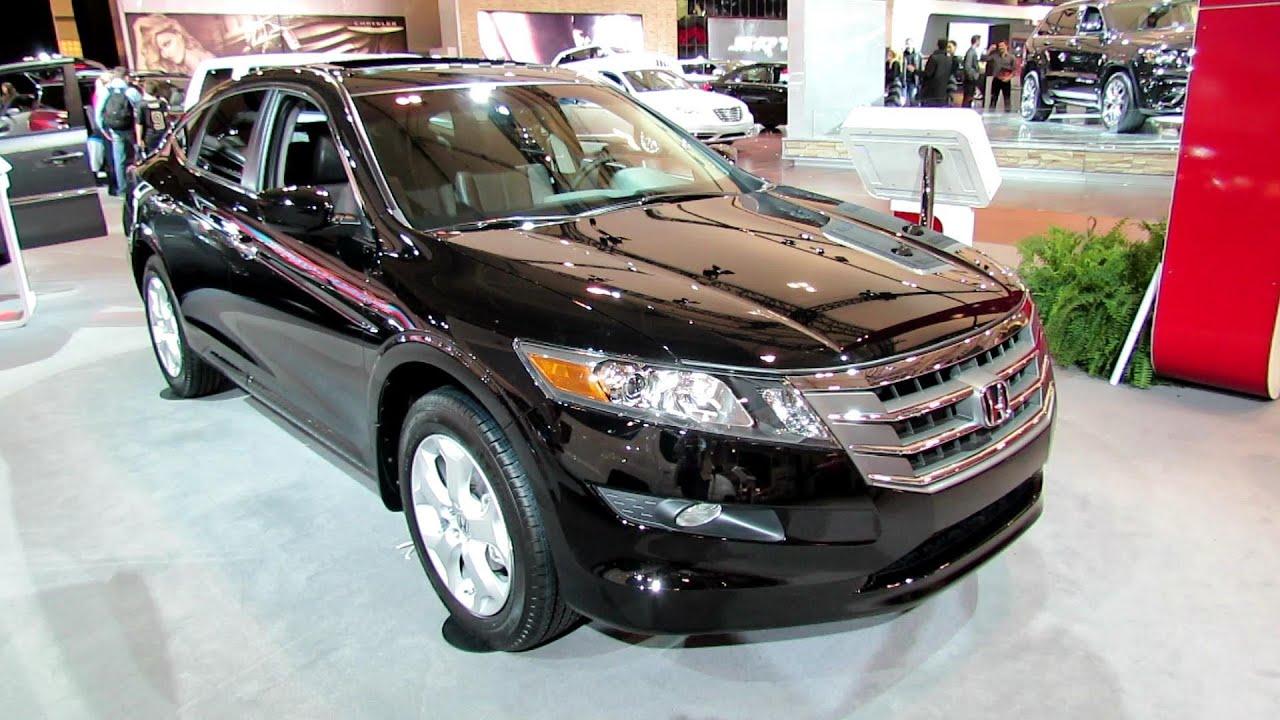 2012 Honda Crosstour V6 Exterior And Interior At 2012