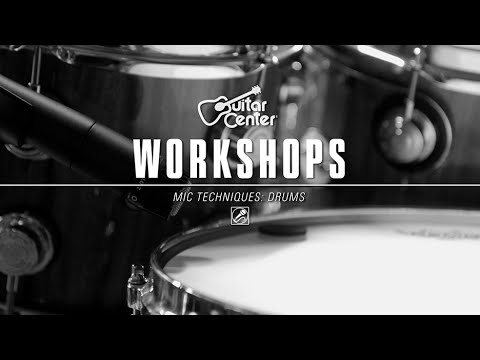 guitar center workshops drum microphone techniques youtube. Black Bedroom Furniture Sets. Home Design Ideas