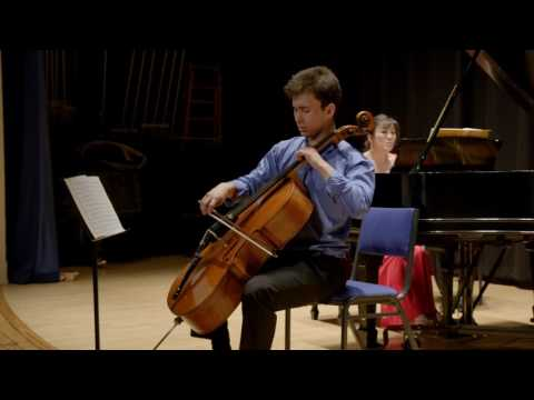 Cellist Jonah Ellsworth | Rachmaninoff Cello Sonata . Opus 19 . Movt. 2