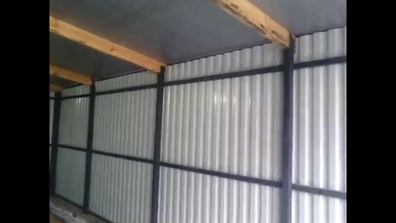 Сделай сам железный гараж купить металлический гараж саратов