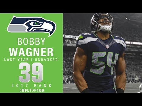 #39: Bobby Wagner (LB, Seahawks) | Top 100 Players of 2017 | NFL