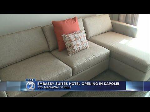 Embassy Suites opens in Kapolei