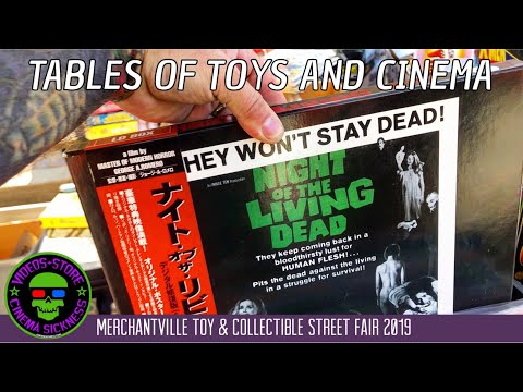 Merchantville Toy & Collectible Street Fair 2019 | Tables Of Toys And Cinema