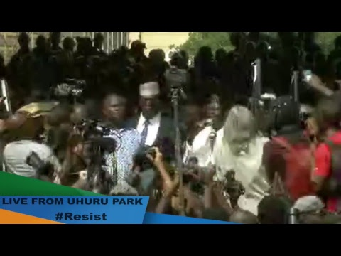 Graciously accepting the mandate granted us by the Kenyan people on August 8th