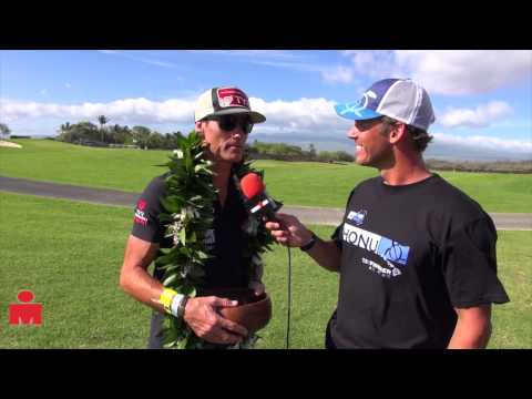 Craig Alexander Post Race Interview, 2013 Ironman 70.3 Hawaii