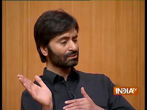 Aap Ki Adalat: I Have Not Spoiled The Peace Process With Pak, Says Yasin Malik - India TV