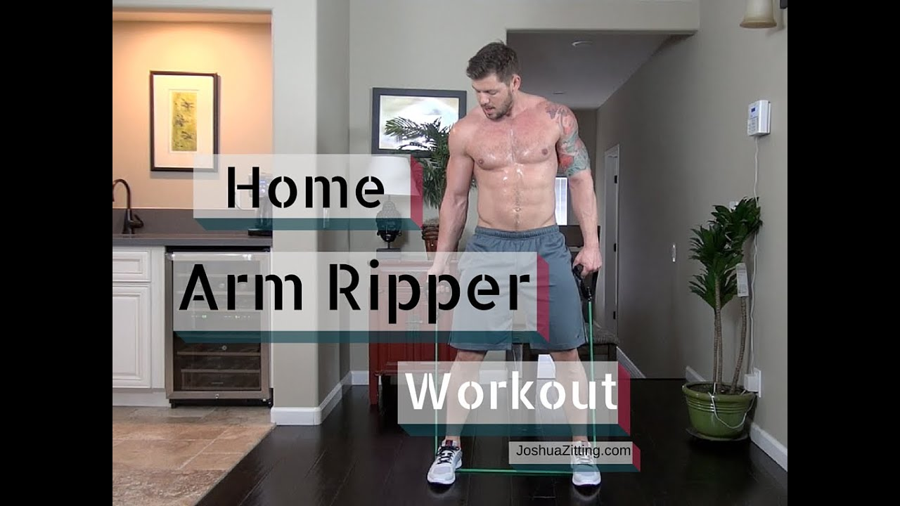 Home Arm Workouts Without Weights