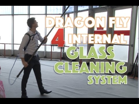 Streamline's Dragonfly 4 Internal Glass Cleaning System