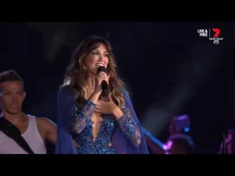 Delta Goodrem - Welcome To Earth (GC2018 Opening Ceremony)