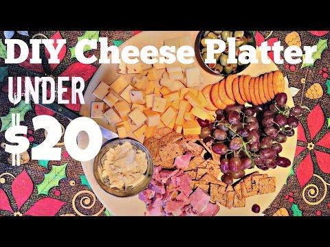DIY Cheese Platter Under $20