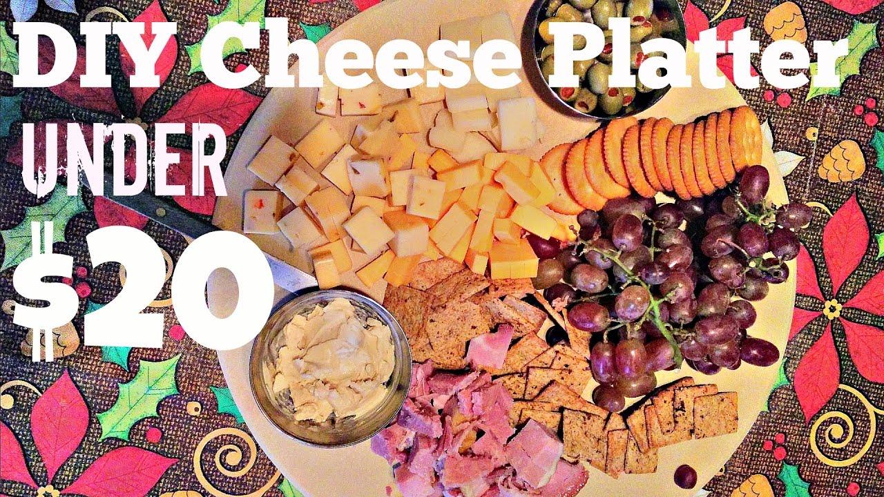 diy cheese platter under 20 youtube