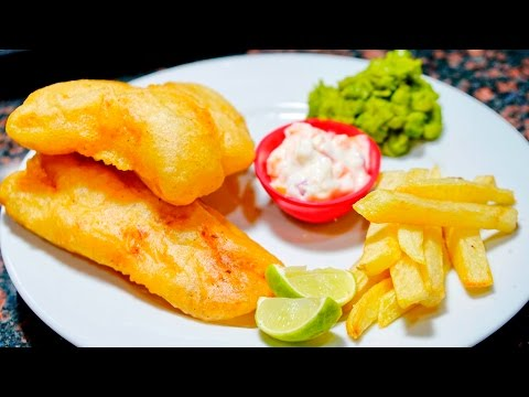 Homemade FISH And CHIPS Recipe - Nonalcoholic Version