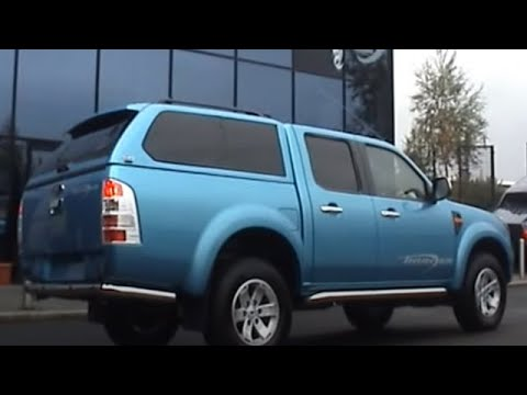 Trucktop Canopy Ford Ranger Alpha GSE truck top installation at 4x4 Accessories u0026 Tyres Ltd UK & Trucktop Canopy Ford Ranger Alpha GSE truck top installation at ...