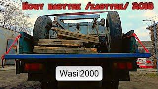 Wyprawa po nowy nabytek (zabytek) czyli KIA K2700 & wóz konny/Wasil2000