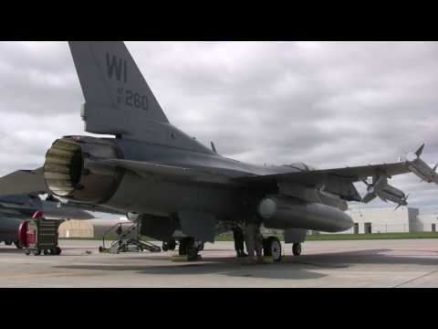 115th FW F-16 Launch