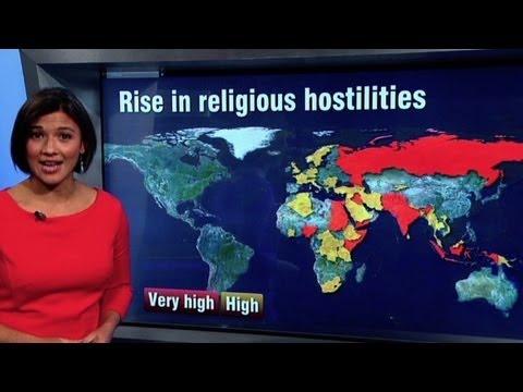 Religious violence flares around globe