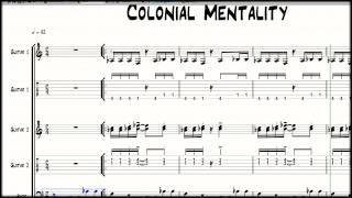 learning to play fela kuti afrobeat colonial mentality by fela kuti pt1
