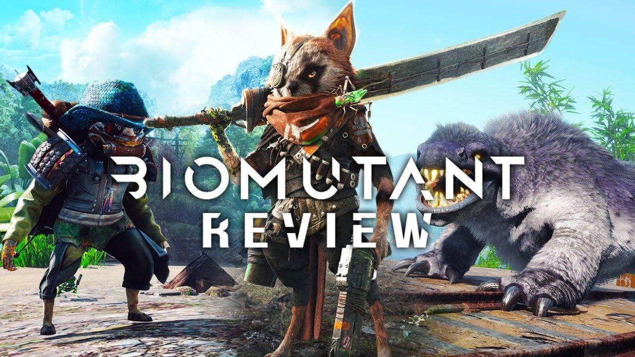 【BIOMUTANT】會功夫跟拿槍的浣熊與他的機械蚱蜢【黃氏兄弟遊戲頻道】化身獸人大冒險