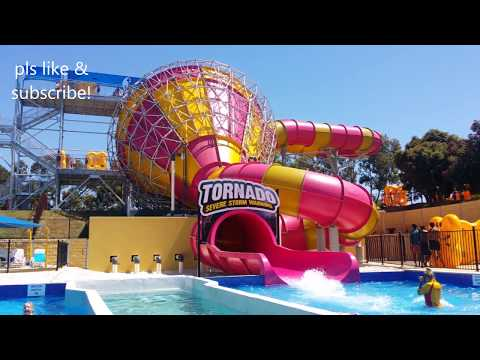 Adventure park Geelong, Melbourne - Tornado Biggest Water ride, Lazy river, thrill rides and more