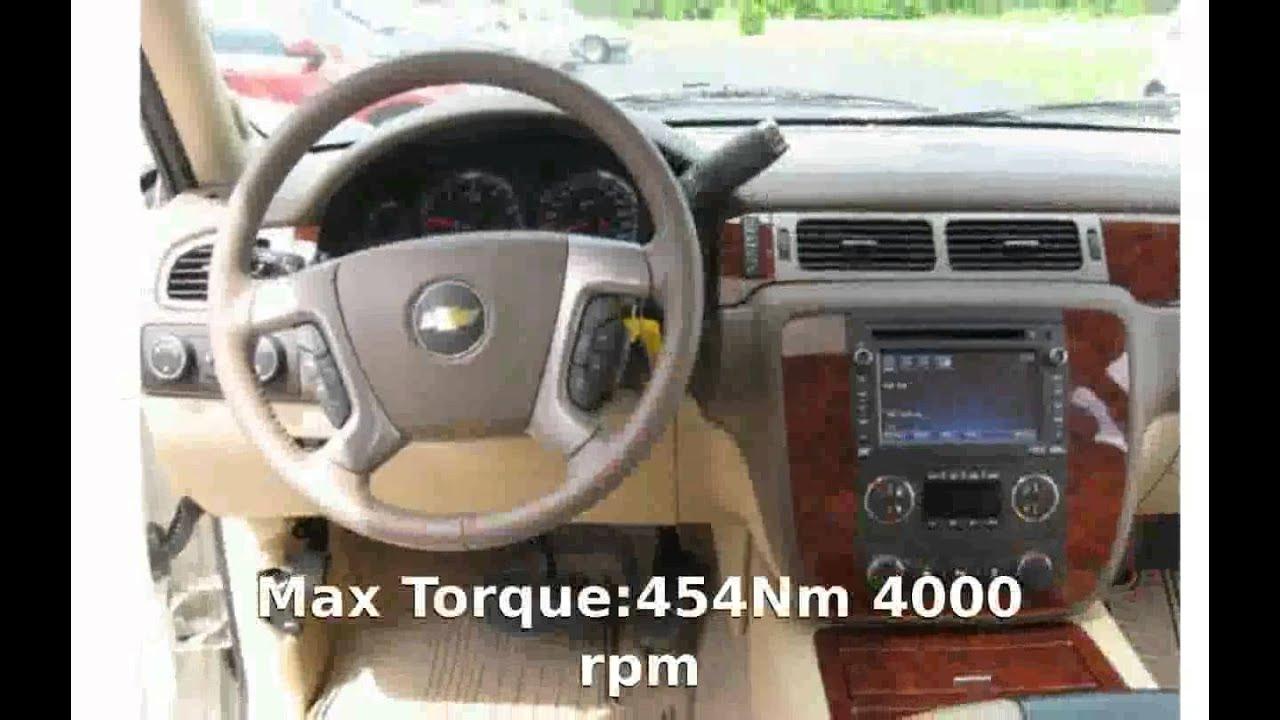 2012 Chevrolet Suburban Ltz 1500 Specs Specification