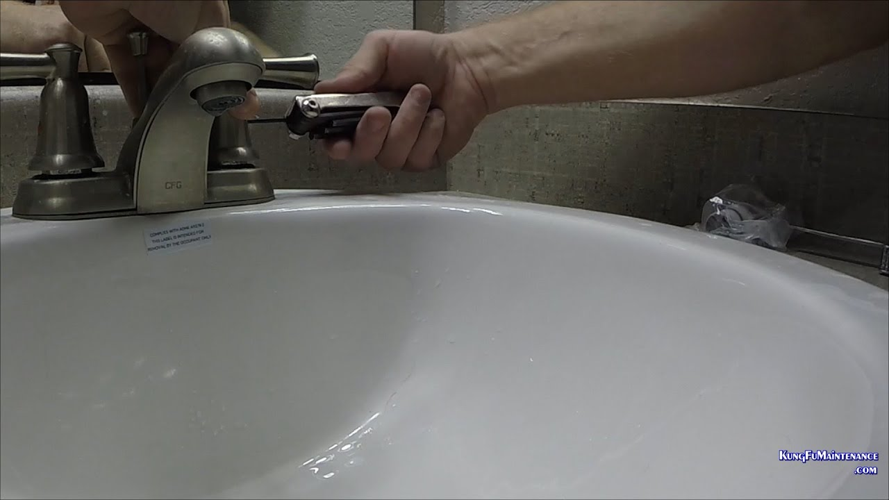 Bathroom Faucet Faucet Drips Easy Fix For CFG Two Handle Faucet ...