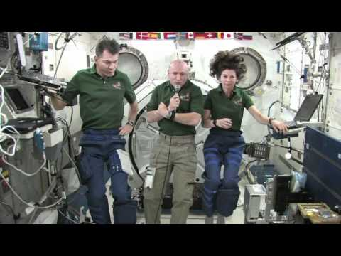 Station Crew Shares Mission Details with Florida Students
