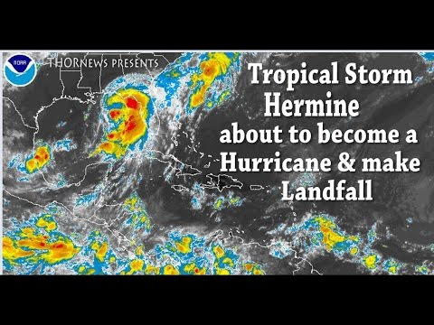 Tropical Storm Hermine is about to be a Hurricane & make Landfall soon