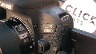 The BEST DSLR kit for social media content? - Canon EOS 800D Review | Click Films