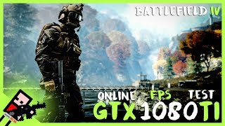 GTX 1080TI FE on Battlefield 4 4K TEST Online