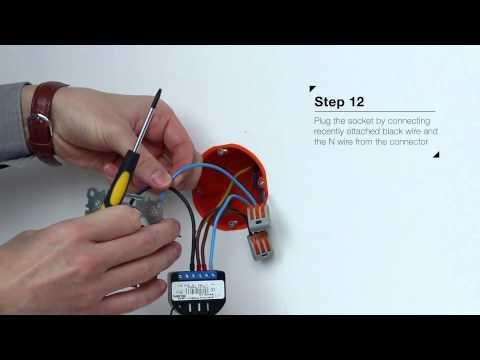 Relay Switch   Installation - Fibaro   Z-Wave