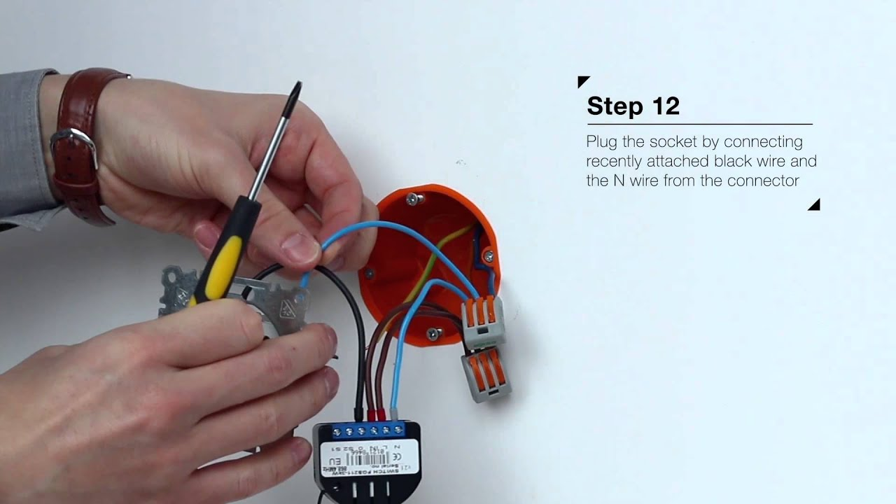Relay Switch Installation Fibaro Z Wave Youtube