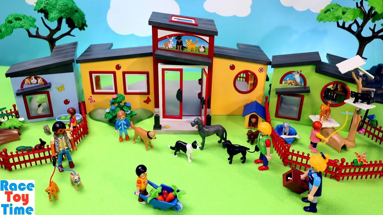 Download Playmobil Small Animals Pets Boarding Build and Play Fun Toys For Kids