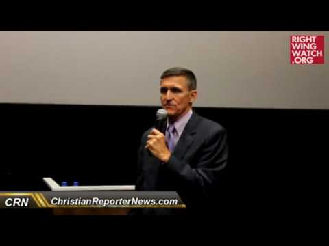 RWW News: Michael Flynn: Islam Is A 'Cancer,' 'Political Ideology' That 'Hides Behind' Religion